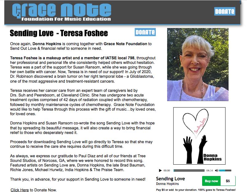 Gracenote - Teresa Foshee